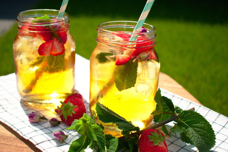 Zonnige zomerdrankjes