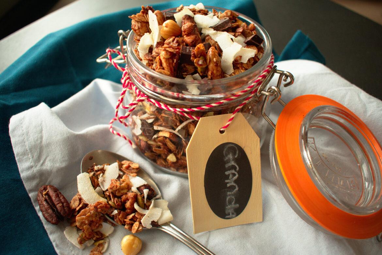 Choco coco granola