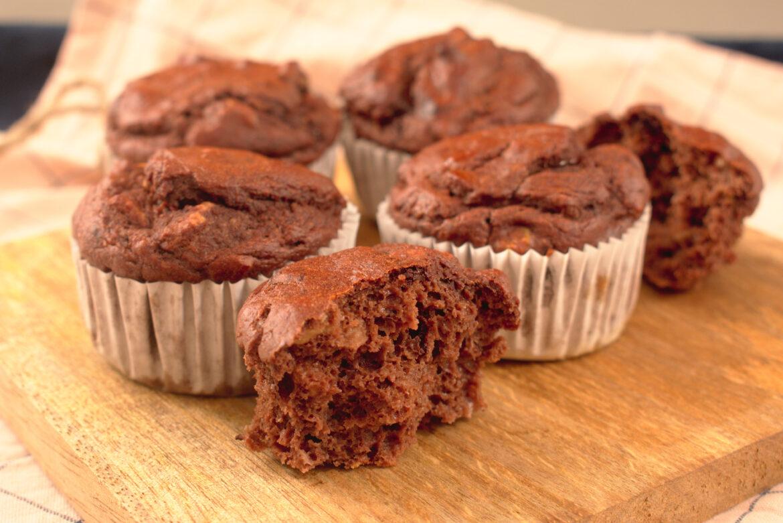 'Gezonde' chocolade muffins