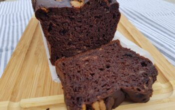 triple chocolate bananabread