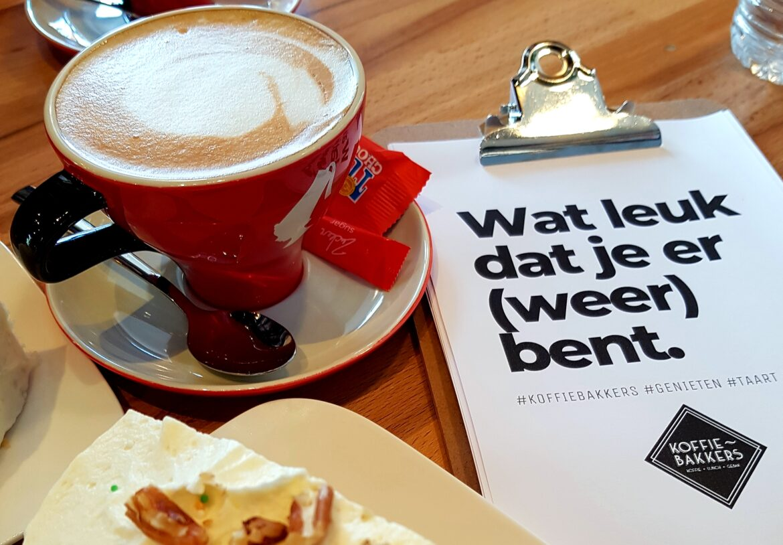 Koffie, gebak en lunch bij Koffiebakkers in Goirle