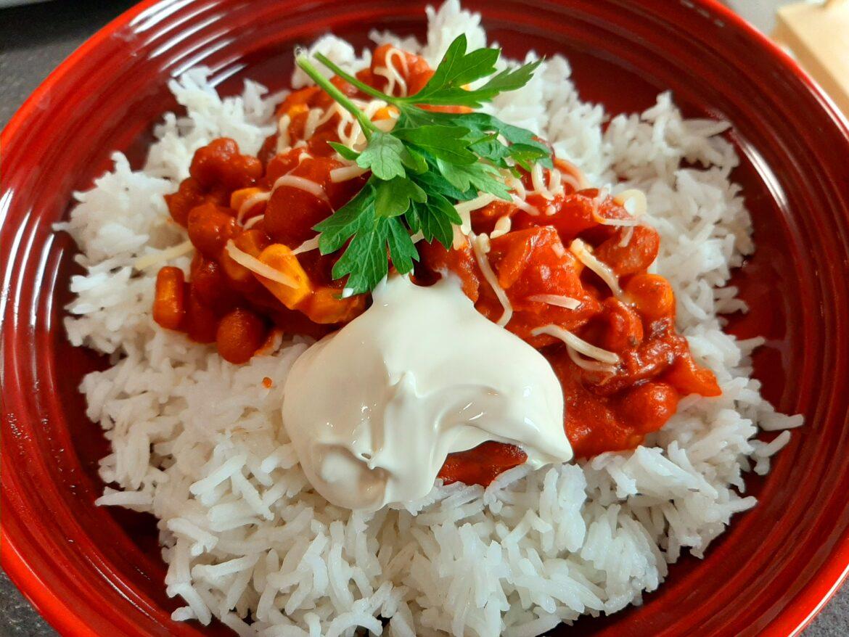 Milde chili sin carne