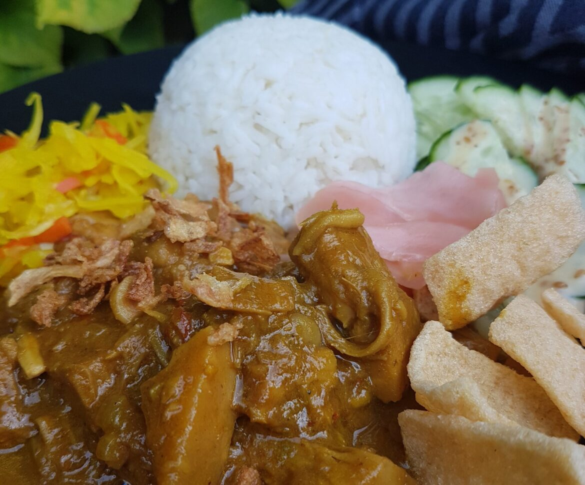jackfruit rendang vegan